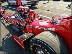 Nostalgia Top Fuel Dragster - California Hot Rod Reunion 2011   by BURGESS CUSTOM ENGRAVING & PHOTOGRAPHY