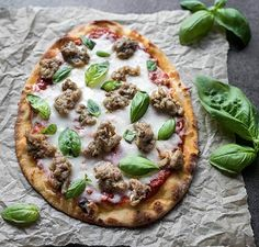 Naan Pizza | Vitamix