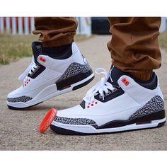 Click to order - Air Jordan 3 Retro's on Amazon #fashion #nike #shopping #sneakers #shoes #basketballshoes #airjordan #retro