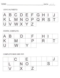 atividades inicio alfabetização - Pesquisa Google