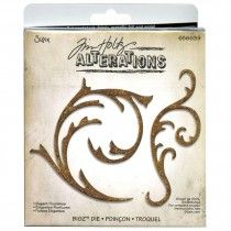 Sizzix Bigz Bigkick Big Shot Die By Tim Holtz Elegant Flourishes 656639