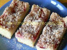 Rychlý švestkový koláč