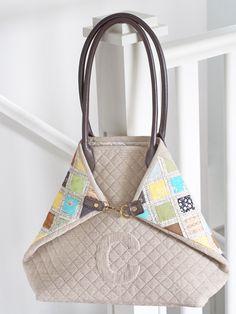 DIY - Patchwork Quilt Purse/Bag