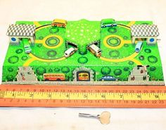 SOVIET RUSSIAN TIN PLATE BUS ROADS STATIONS WIND UP TOY LM RUSSIA Working+key - http://hobbies-toys.goshoppins.com/electronic-battery-wind-up-toys/soviet-russian-tin-plate-bus-roads-stations-wind-up-toy-lm-russia-workingkey/