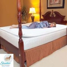 @Overstock - Experience a more restful and comfortable sleep by adding this Slumber Solutions memory foam mattress topper to your bed. While providing both comfort and support, memory foam is temperature sensitive and contours to the shape of your body.http://www.overstock.com/Bedding-Bath/Slumber-Solutions-1-inch-Memory-Foam-Mattress-Topper/5309601/product.html?CID=214117 $44.99
