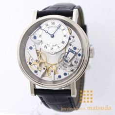 Amazon.co.jp: 【ブレゲ】 BREGUET 腕時計 トラディション WG×レザーベルト シルバー 7057BB/11/9W6 メンズ 【並行輸入品】: 腕時計通販