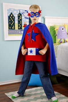 Is sewing your super power? Then put your skills to the test and whip up a this wonder with warm and cozy flannel.