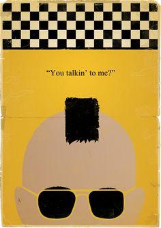 Movie Posters Reworked by Martyn Dawson, via Behance