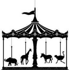 Merry Go Round mobile by Helene Ige