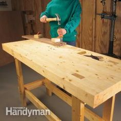 Build a Work Bench On a Budget - Most likely going to build this one.