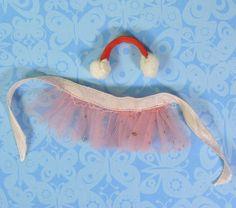 Vintage Barbie Accessories 1613 Dog n Duds Earmuffs Ballet Tutu for Poodle VGUC #Mattel #ClothingShoes