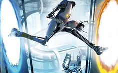 Abrams recently confirmed in an interview with IGN that he is still in talks with Valve regarding the possible filming of Half-Life and Portal inspired movies. The concept first surfaced thre… Portal Movie, Portal 2, Old Games, News Games, Half Life, Just Girly Things, Reasons To Smile, Indie Games, Concept