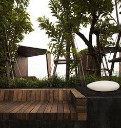 Life@Ladprao 18 Condominium Garden / Shma Design - 谷德设计网