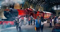 Attrazione HogwartsExpress, Universal Studios Florida di Orlando