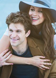 Be silly and real and original. The world has enough ordinary. // Keegan Allen and Troian Bellisario star as Toby Cavanaugh and Spencer Hastings in Pretty Little Liars.