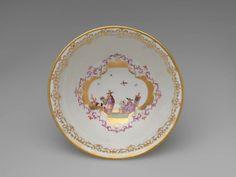 Waste Bowl -  Johann Gregorius Höroldt, painter 1696 - 1775 Meissen Porcelain Manufactory