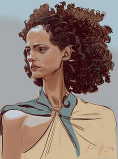 """Missandei"" by Jason Hong -  Blog/Website 