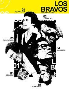 Photo: Llegaron los más bravos.....Los bravos de la salsa..Guepaje! (Collage Vectores) Music Aesthetic, Aesthetic Collage, 80s Posters, Music Posters, Salsa Musica, Puerto Rican Music, School Is Over, Puerto Rico History, Music Symbols