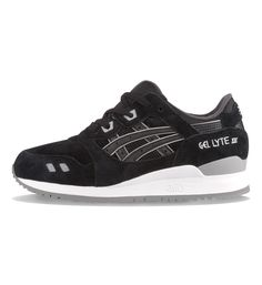 reputable site 37de5 a288f Here is one of two new no-nonsense colour-ways of the woman s model of the  ASICS Gel Lyte III. They feature mesh and suede uppers and the infamous  split ...