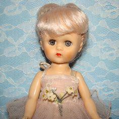 C1956 Virga Schiaparelli Tu Tu Ballerina Doll Tagged Ballet Costume Pink Hair by AmericanBeautyDolls on Etsy