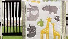 Zoo Animals Neutral Baby Bedding