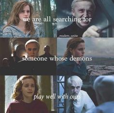 I ship Hermione and Draco ... Sorry I can't help it