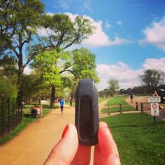 Fitbit One, Richmond Park, Circuit, Activities, Running