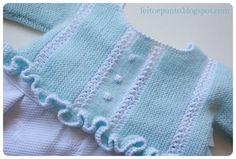 Sewing a fabric skirt to a knitted bodice ~~ Cómo coser una falda de tela a un cuerpo de punto
