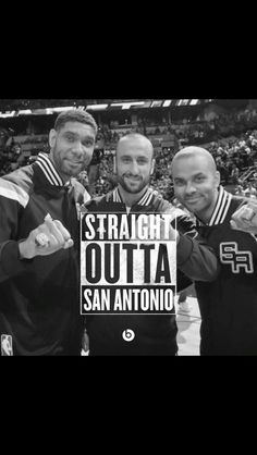Timmy, Manu, Tony