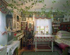 Traditional House No. 1, Bucovina, Romania, 2006 | David Leventi Photography