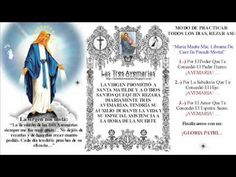 Promesas de las Tres Avemarías, se incluyen al inicio del Santo Rosario - YouTube