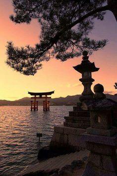 Floating torii of Miyajima Island