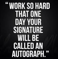 Hard work pays off everything.