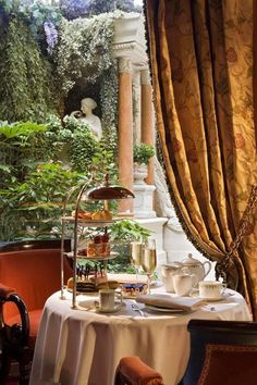 Afternoon Tea at The Ritz-Carlton, Paris