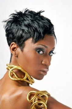 1000 Images About Short African American Hairstyles On