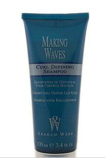 Graham Webb Making Waves Curl Defining Shampoo - 3.4 oz - travel size by GRAHAM WEBB. $1.39. Graham Webb Making Waves Curl Defining Shampoo is a curl defining shampoo that revitalizes naturally curly or permed hair as it gently cleanses and infuses moisture to eliminate frizz and create soft, flexible curls.