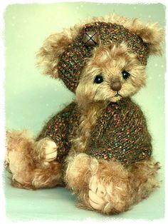 Three O'Clock Bears: Duffy. Bears created by Jenny Johnson. www.threeoclockbears.com