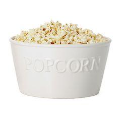 I eat a lot of popcorn