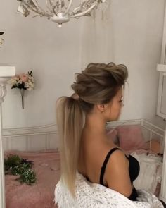 46 Glam Updo Concepts For Lengthy Hair & Tutorials - #Glam #hair #Ideas #Long #T... - #46 #Concepts #Glam #Hair #Ideas #Lengthy #Long #Tutorials #Updo