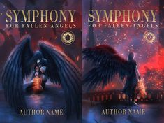Exclusive premade and custom book covers. Beautiful, eye catchy and cinematic book covers for sale. Original design by Adrijana Cernic. Book Covers For Sale, Fantasy Book Covers, Premade Book Covers, Dark Angel Series, Fallen Angels, Book Cover Design, Art, Craft Art, Kunst