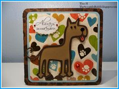 The Scrappin Rabbit: Sympathy Card using Paper Pups