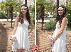 Wedding Series I: Look + outfit boda civil. http://www.marleahmakeup.com/2014/09/wedding-series-i-look-outfit-boda-civil.html
