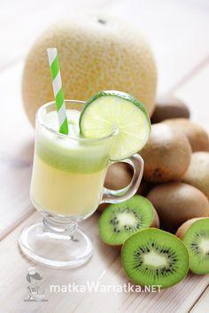 kiwi and cantaloupe juice :)