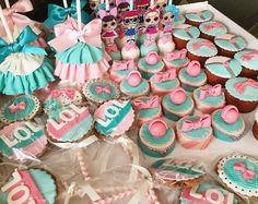 9th Birthday, Birthday Parties, Lol Doll Cake, Creative Party Ideas, Surprise Cake, Doll Party, Lol Dolls, Oreos, Rapunzel