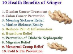 Ginger is a time-honored nausea fighter, but it can do so much more - 10 Health Benefits #superfood #nutrition