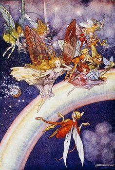 helen jacobs artist | ... Helen Jacobs (colour litho) children illustr, magic glowworld, helen