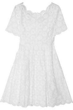 Bridal Shower Attire: J.Crew Eyelet Dress