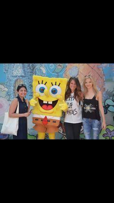 Spongebob Squarepants at Universal Studios Hollywood Spongebob Squarepants, Universal Studios, Hollywood, Movies, Movie Posters, Art, Art Background, Films, Film Poster