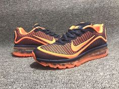 timeless design d1cc2 8589b New Nike Airmax 2017 Sneakers Now Available! Available Only Size Available   EU 46 47 Delivered in a Box Price  Colourway  Orange Deep Blue DM to Order  Get ...