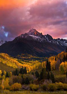 Mount Sneffels, San Juan Mountains, Colorado; photo by Phillip Noll